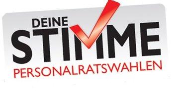 offizielles Logo für die Personalratswahlen 2016
