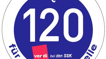 SSK_Tarifrunde 2015_Sticker 120 Euro