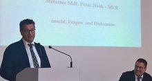 Peter Hauk MdL , Minister für Ländlichen Raum und Verbraucherschutz (MLR) bei VVT 2016