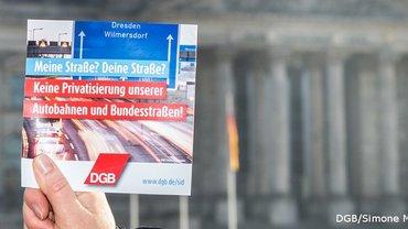 Resolution für eine zukunftsfeste Verkehrsinfrastruktur und gegen eine Privatisierung der Autobahnen