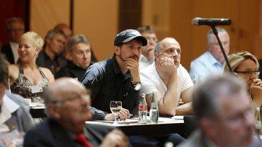 Zuhörer bei der Konferenz Logisch - Logistik