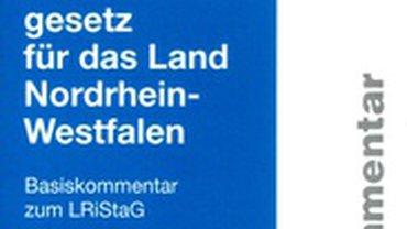 Das Buchcover ds LRiStaG-Basiskommentar.