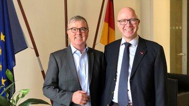 Foto zeigt Andreas Gallus und Stefan Adamski