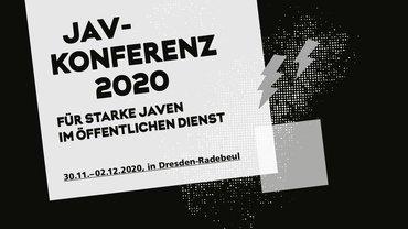 Titelmotiv der JAV-Konferenz 2020