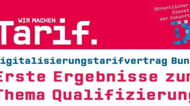 Cover des Flugblatts Digitalisierungstarifvertrag