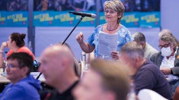 Katrin Teich, Vertreterin der Beamt*innen bei der BTK